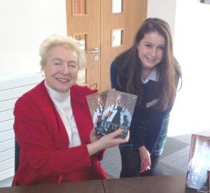 Dame Shirley with  Victoria's daughter Sophie.
