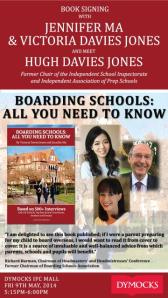 Boarding Schools: All you Need to know - The launch in Hong Kong